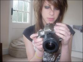me and my camera AGAIN by heffie