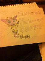 Sapphires holloween outfit by Danielle2002