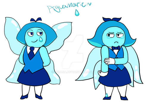 Canon and my Aquamarine by Zerada