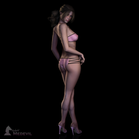 Danielle Pinup by ModernMedevil
