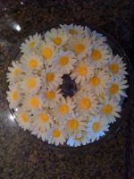 Daisy Cake by LickTheBowlBakery