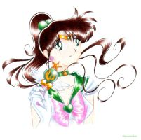 Pretty Sailor Jupiter - Color by Psyconorikan