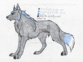Adoptable 03 - Ice by ImmortalShande
