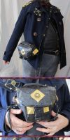 Steampunk Duct Tape Camera Case by Windthin