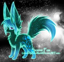 Scene Fox Adoptable ~ 7 by BiahAdopts