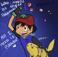 Stop being Stupid Ash by missbooyaka