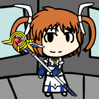 [Live Event] Custom Walfas: Nanoha by Unknownfalling