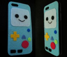 BMO adventure time Iphone Case by P-isfor-Plushes