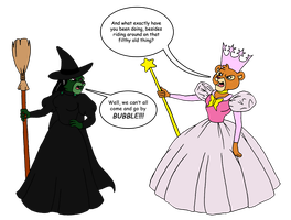 Wicked - Witches' Bicker by BennytheBeast