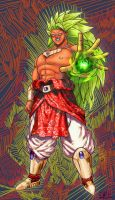 Broli SSj3, BLOOD by Lu-Kutha