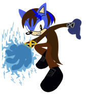 Thunder Blade Sonic Style by FrostQuill