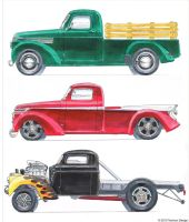 '42 chev trucks by AaronsDesk