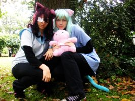 Youji and Natsuo Cosplay 05 by Rayi-kun