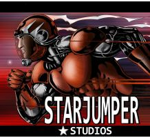 Coloured version of Starjumpers studio promo by Mojo-Smileyface