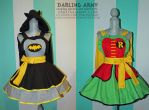 Batman and Robin Cosplay Pianfores by DarlingArmy