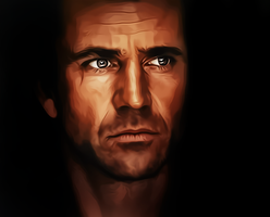Mel Gibson by donvito62
