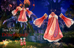 [MMD] TERA Online - Floral Outfit DL by MirelHelly