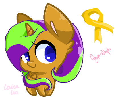Childhood Cancer Pony Adopt- CLOSED! by gayponeadopts