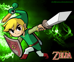 The Minish Cap - Link by DarkFranou