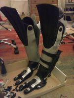 Tali's Feet WIP by D2SCosplay