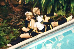 Vocaloid: Twins by Taikii-nii