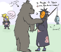 Bear loves Tobi by heartlesstheif