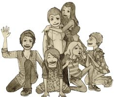 iCarly Crew by goldenflames66