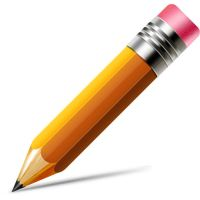 Pencil Icon (Vector PSD) by softarea