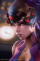 Widowmaker Overwatch by Breadblack