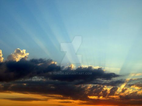 Cone of Rays by ydwoR