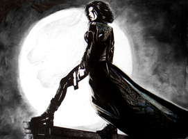 Selene from Underworld by morkovka55