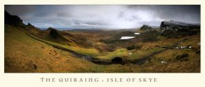 Quiraing Pano by ArwensGrace