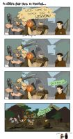 A day in Skyrim... by GinharoBEAST
