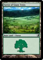 Forest of Giant Trees TCG by AnimeMTG
