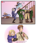 [APH] Draw the (Hetalian) Squad by Margo-sama