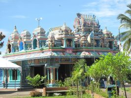 hindu Temple 01 by fgnight