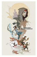 Korra Tribute by DarkSunRose
