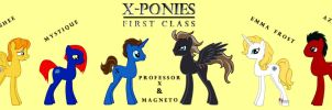 X-Ponies: First Class by StarRose17