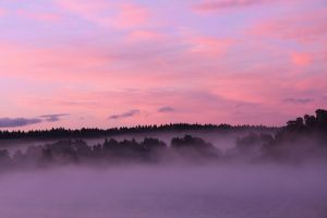 morning fog by KariLiimatainen