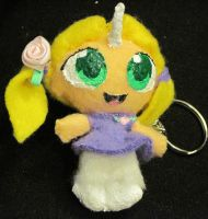 Chibi Unicorn Girl Plushie by HollyRoseBriar