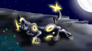 Darksoleon night~ by Glaceon-X