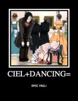 Black Butler Demotivational Poster by neo-chan7
