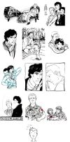 The Sketchbook Project 2012 - Sherlock Theme by JamieKinosian