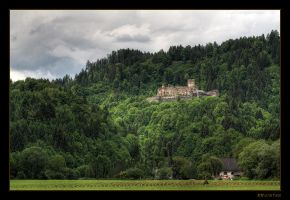 At the foot of Castle Glanegg by RRVISTAS