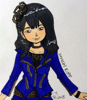 Riho in Brainstorming Outfit by PucchiQ