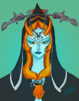 Princess Midna by antoinette721