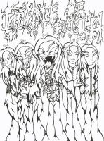Cradle of Filth - Inked by SkitsoSquirrel