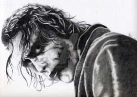 The Joker - Heath Ledger by fabri360