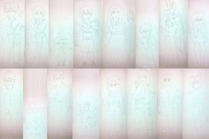 Seven Up Characters - Part 1/3 by TioCrushFFC