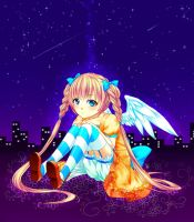 Angel in the night by Ree1997